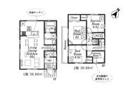 瑞穂町大字箱根ヶ崎 新築戸建 全2棟 1号棟の画像