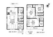 瑞穂町大字箱根ヶ崎 新築戸建 全2棟の画像