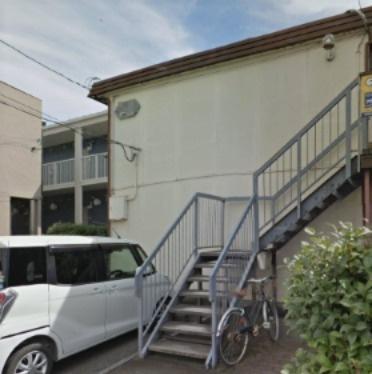【外観】鶴ヶ島市大字上広谷の一棟売りアパート