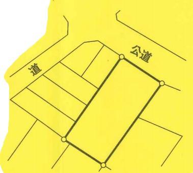 【区画図】鶴ヶ島市大字上広谷の一棟売りアパート