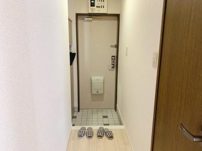ゆったりとした玄関です同型タイプ