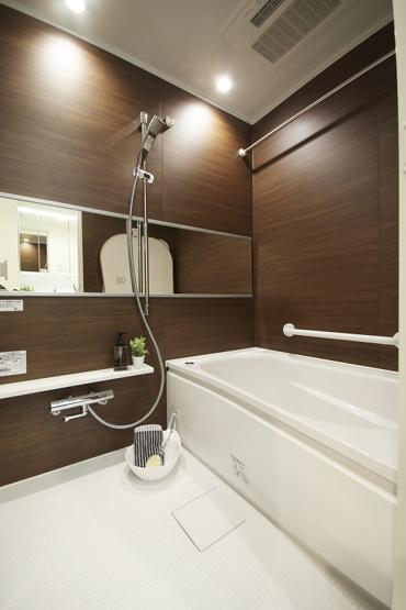 【浴室】コープ野村バードウッド鶴見3番館