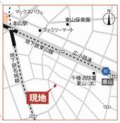 本山駅徒歩5分の好立地です。