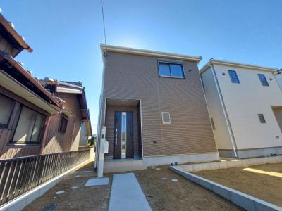 【外観】名古屋市西区城町169【仲介手数料無料】新築一戸建て 1号棟