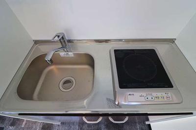 【キッチン】板良敷新築アパート