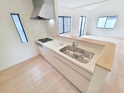 【キッチン】牛久市栄町第3 新築戸建 全8棟