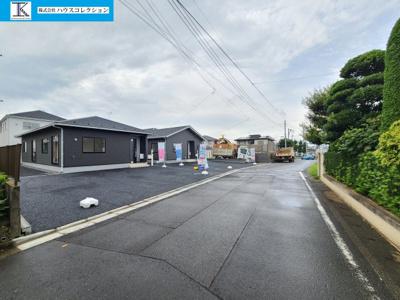 【前面道路含む現地写真】牛久市栄町第3 新築戸建 全8棟