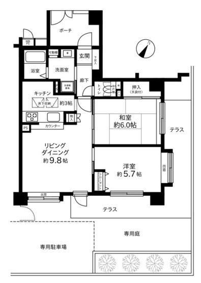 クリオ多摩永山壱番館