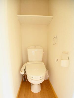 【トイレ】レオパレスヒルサイドフラット