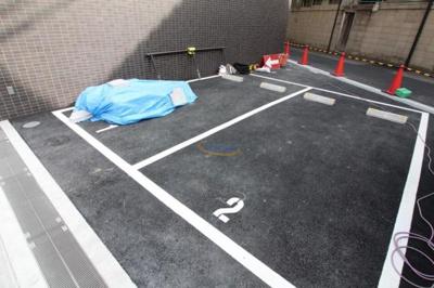 【駐車場】ジュネーゼグラン福島ミラージュ