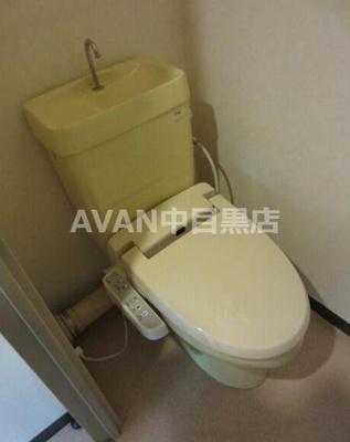 【トイレ】インペリアル青葉台フラット