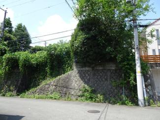 【外観】川西市緑が丘1丁目2号地 建築条件無土地