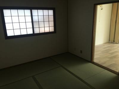 【寝室】長田町貸家