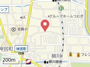 【地図】スリーハイム