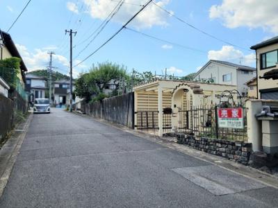 【前面道路含む現地写真】北区西賀茂大深町 中古戸建