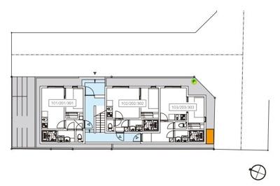 【区画図】MK Residency(エムケーレジデンシー)