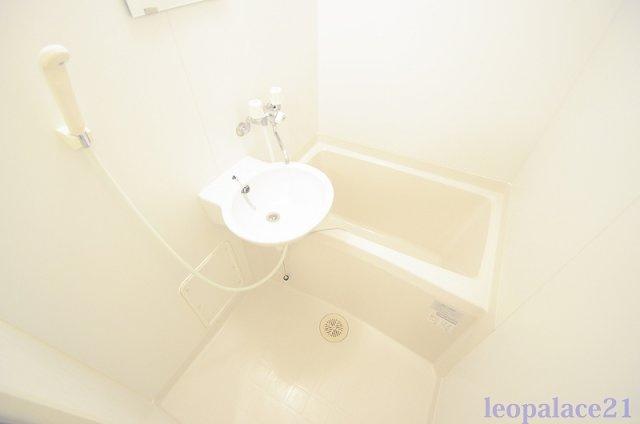 【浴室】レオパレスグリーンコーポ多摩