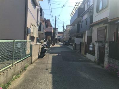 【前面道路含む現地写真】今津久寿川町戸建
