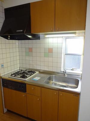 システムキッチン(ガス2口)