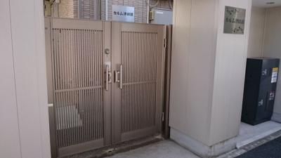 【カルム津田沼】はオートロック付きで安心!