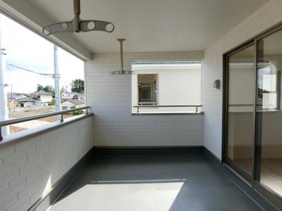 【バルコニー】土浦市高岡第2 新築戸建 全4棟