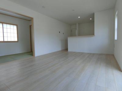 【居間・リビング】土浦市高岡第2 新築戸建 全4棟
