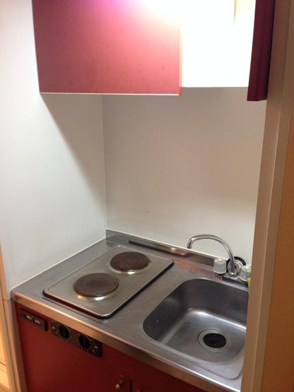 【キッチン】レオパレスウエストリッジ1