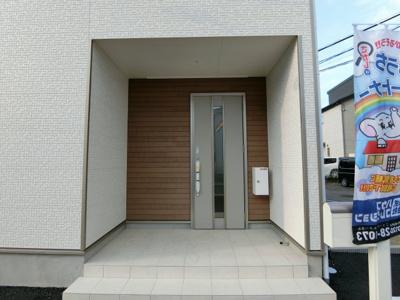【玄関】土浦市荒川沖東 第6 新築戸建て