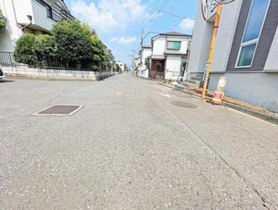 【前面道路含む現地写真】清瀬市中里1丁目 全1棟