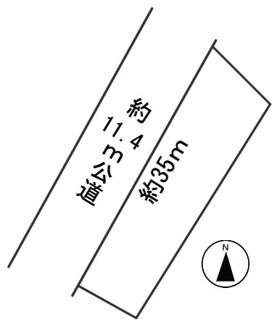 【区画図】57178 岐阜市岩崎土地