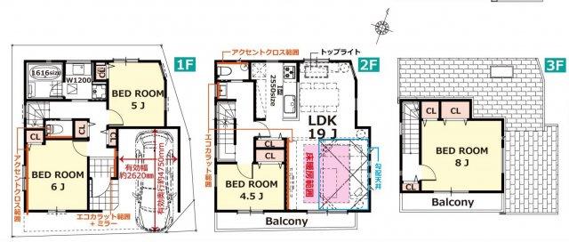 中野区沼袋4丁目 新築一戸建 西武新宿線 沼袋