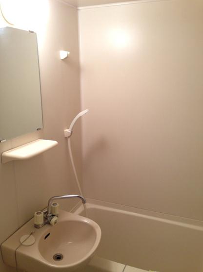 【浴室】レオパレスウエストリッジⅠ