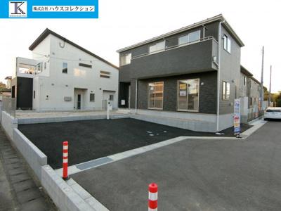 【外観】土浦市乙戸第5 新築住宅 全6棟