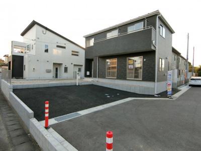 【前面道路含む現地写真】土浦市乙戸第5 新築住宅 全6棟