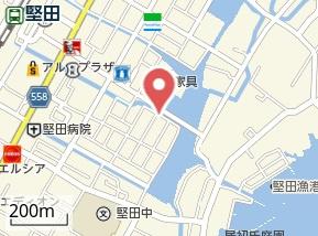 【地図】レオパレスグローセ