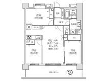 JR南武線「武蔵新城」駅 コスモ武蔵中原ウイングコートの画像