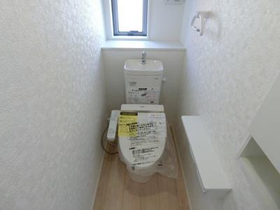 【トイレ】土浦市真鍋新町第4 新築戸建 全5棟