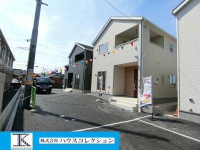【外観】土浦市真鍋新町第4 新築戸建 全5棟