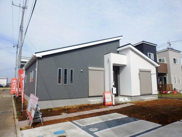 【外観】茨城町桜の郷新築一戸建(7期2号棟)