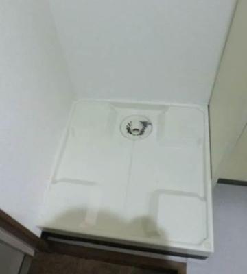 室内洗濯機置き場は玄関