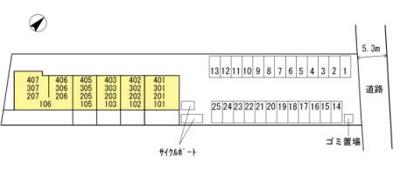 【区画図】プリマヴェーラ花の木