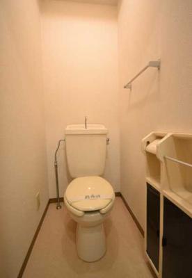 【トイレ】グレイス下北沢 バストイレ別 室内洗濯機置場 南向き