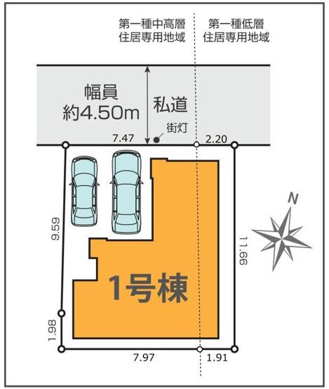 【区画図】KEIAI Style 練馬区石神井台9期