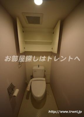 【トイレ】レジディア日本橋馬喰町