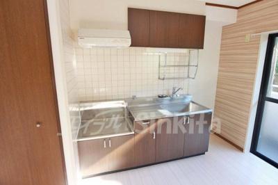 【キッチン】ニューフレンドマンション