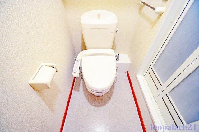 【トイレ】レオパレスラプランタン