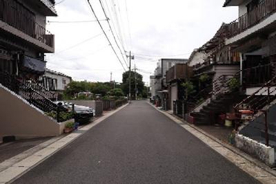 【前面道路含む現地写真】東野狐藪町