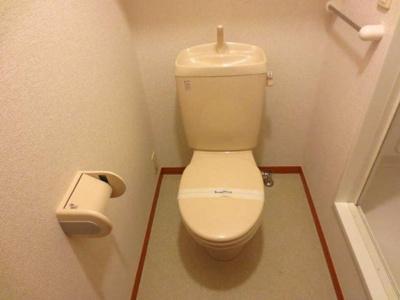 【トイレ】レオパレスtachibana