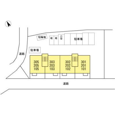 【駐車場】エスポワール祇園 B棟