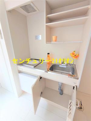 【キッチン】クラッセ練馬III-1F